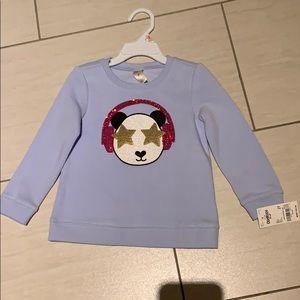 NEW OshKosh Blue Toddler Sweater 2T